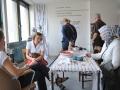 Atelier Claudia Reich  (c) Urbane Nachbarschaft Samtweberei gGmbH. Foto: Eberhard Weible
