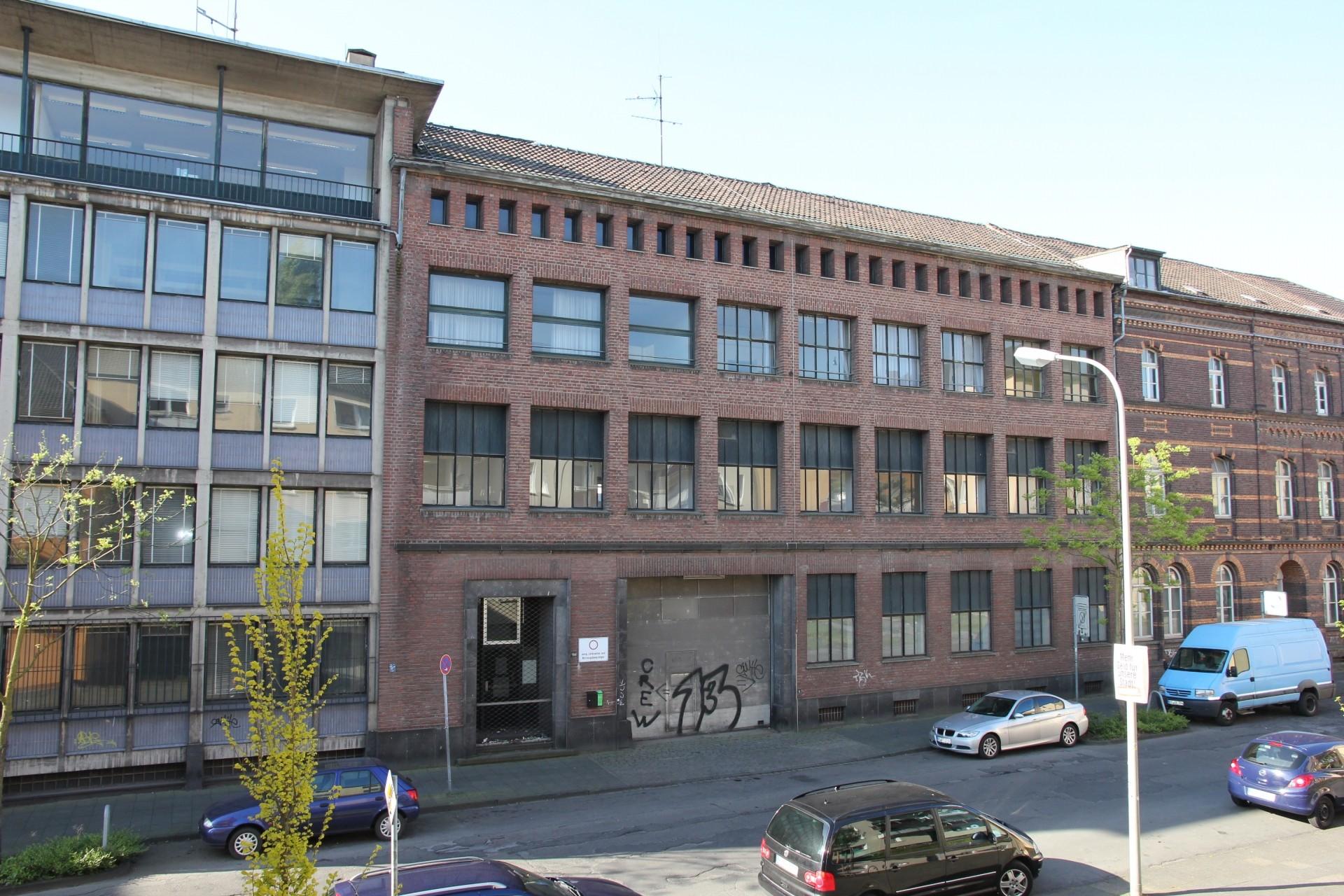 Die Samtweberei an der Lewerentzstraße - Foto: UNS
