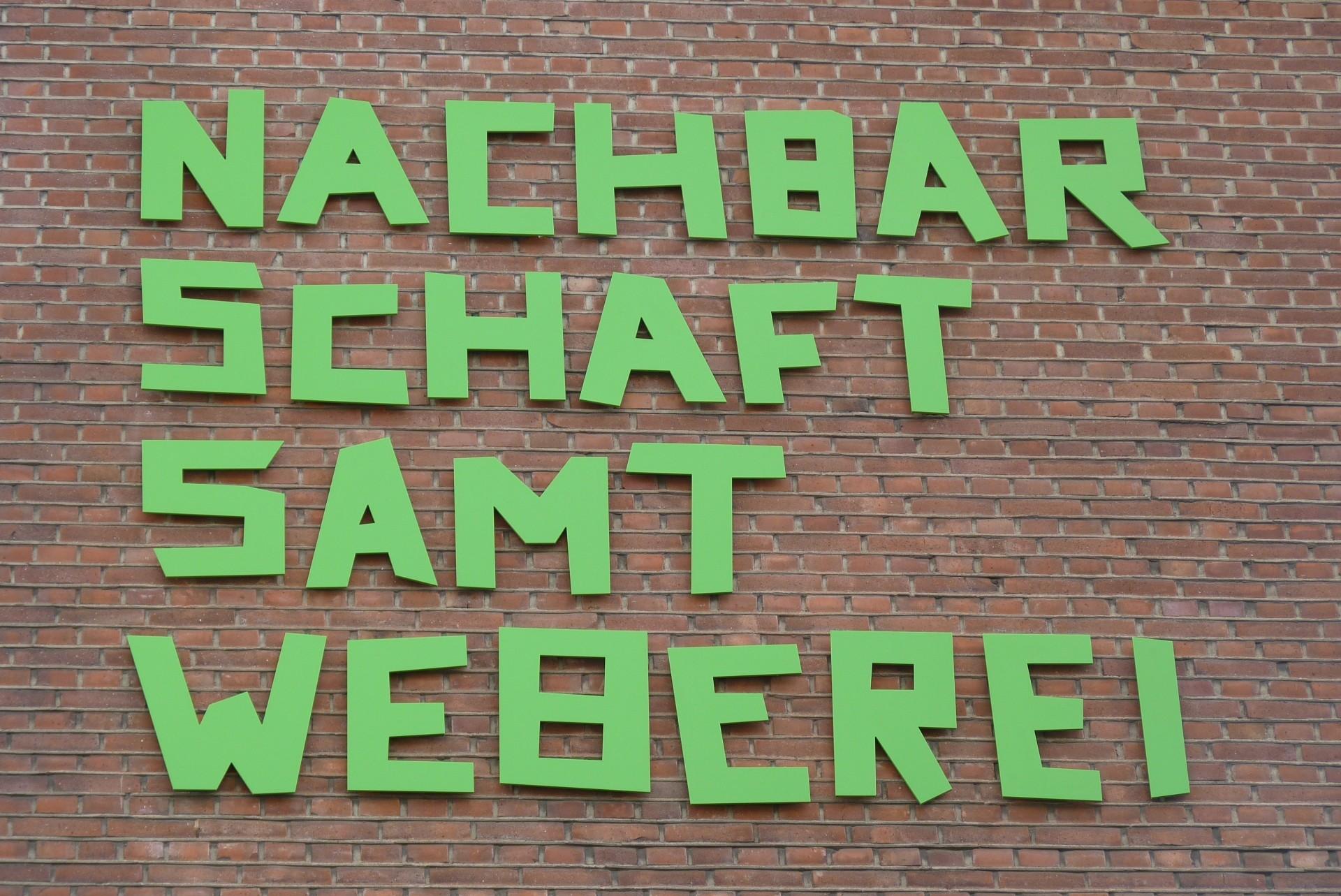 """""""Nachbarschaft Samtweberei"""" am Pionierhaus - Foto/Copyright: UNS/MUR"""