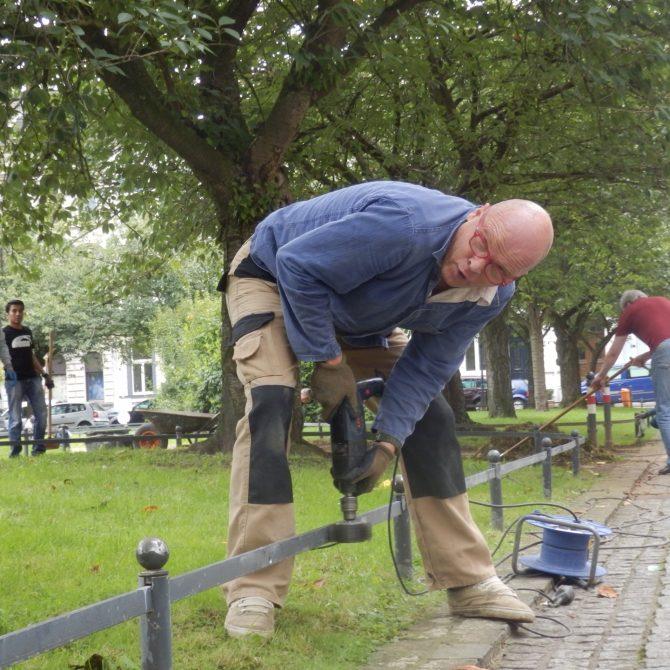 """Helfer bei """"Ein Anstrich allein"""", Ein Projekt von Frank Schneewind"""