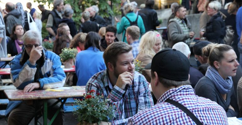 Nachbarschaftsfest 26.09.2015 - Foto: Sylvia Lösche, Copyright: UNS/MUR