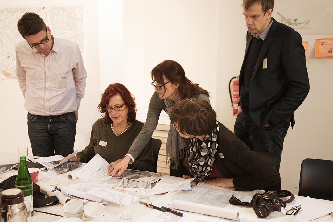 Planungswerkstatt im Februar 2014 – Foto: Martin Scott