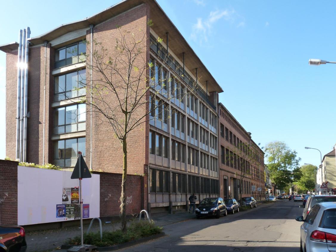 Das zukünftige Pionierhaus der Alten Samtweberei — Foto: Stadt Krefeld