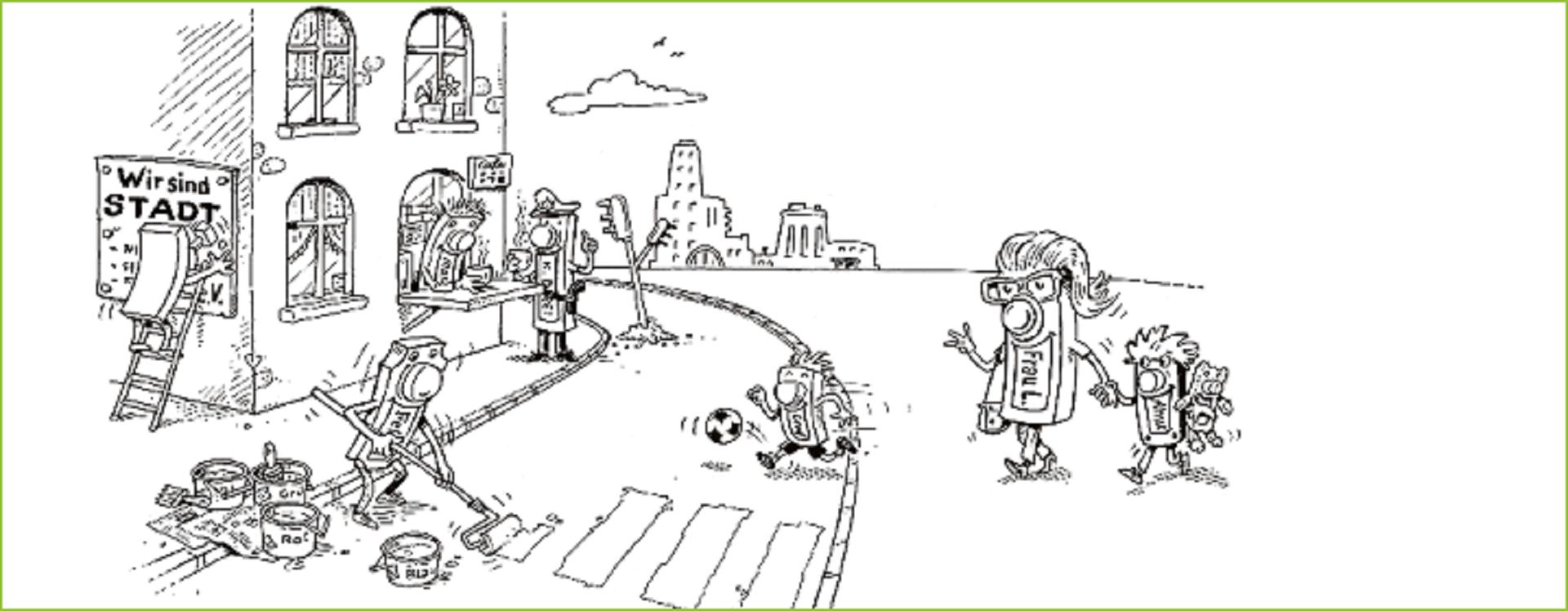 Projekte machen - Urheber: Fred Fuchs; Copyright: Montag Stiftung Urbane Räume