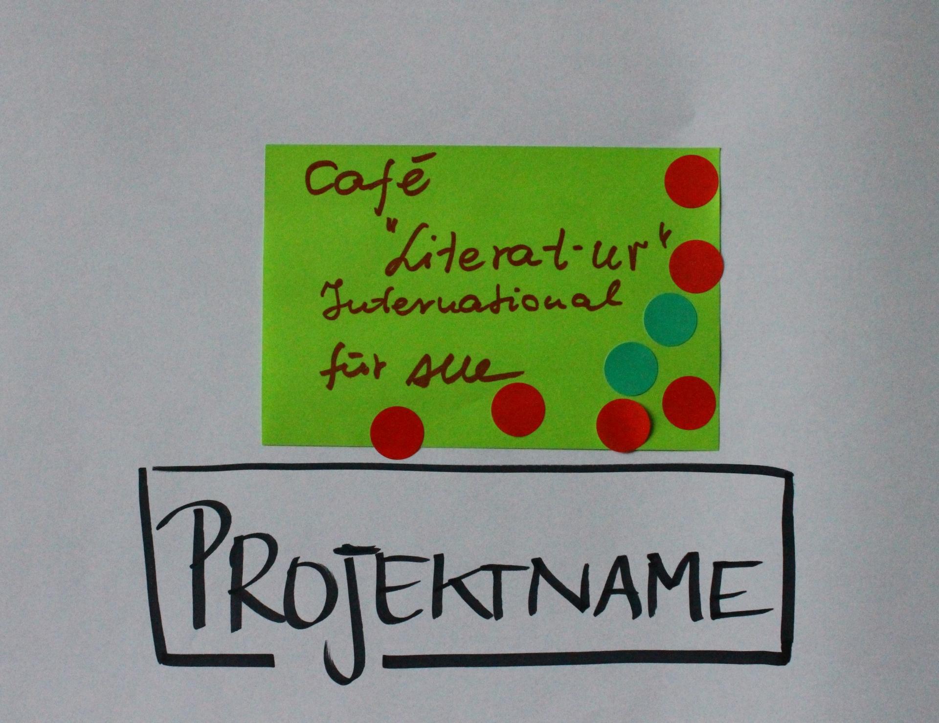 Ein Beispiel-Projekt auf der Plattform-Veranstaltung am 14. Mai - Foto: Fatima Aladag, Copyright: MUR/UNS